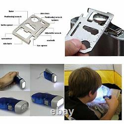 163Pcs First Aid Kit Waterproof Portable Essential Medical Emergency Equipment