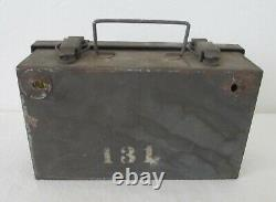 #2 WWII Oakland City Davis Emergency Equipment First Aid Medic Kit Supplies Box