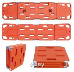 4 fold Rescue stretcher Backbone Panel Fixed Floating emergency stretcher E