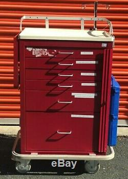 ARMSTRONG Medical A-Smart Emergency Cart