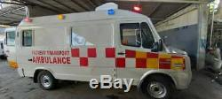 Advance Life Support Medical Ambulance With Emergency Equipments And Trauma Kit