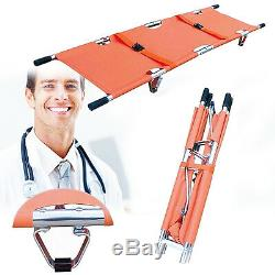 Aluminum Alloy Foldable Medical Home Clinic Patient Emergency Stretcher Bed BOS