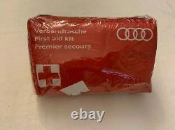 Audi Genuine First Aid Kit Medical Emergency Kit Safety Equipment New