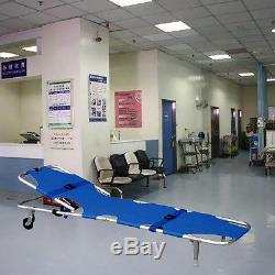 Buy Stretcher With Backrest Ambulance Emergency Foldable Medical SP92 Durable
