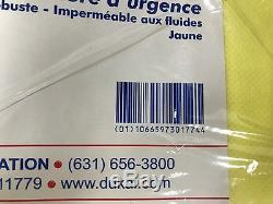 Case of 50 DUKAL Corporation Emergency Yellow Blankets 7303 FREE SHIPPING