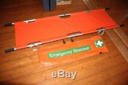 Doherty Portable Stretcher Foldable + Carrying Case Emergency wie Spencer Ferno