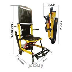 Electric Stair Climbing Vehicle Hospital Emergency Wheelchair Stair Stretcher