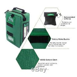 Emergency Medical Rescue Bag 165-Piece First Aid Kit Outdoors Car Luggage School