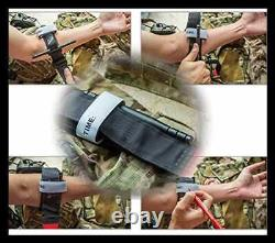 Emergency Tourniquet One Handed First Aid Kits Equipment For Tactical Medical Ou
