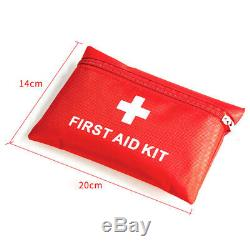 First Aid Kit Medical Emergency Equipment Kits For Hiking Backpacking Portable
