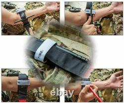 Houkr Emergency Tourniquet One-Handed First Aid Kits Equipment Tactical Medical