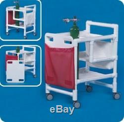 Innovative Products Emergency Mobile Cart with CPR Board #EC500