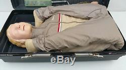 LAERDAL FULL BODY SIZED RESUSCI ANNE CPR & AIRWAY MANNEQUIN AA-1501 with Case