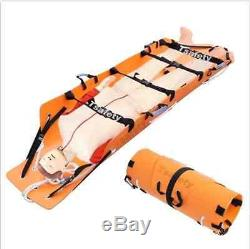 Lift Roll stretcher folding multifunctional Fire emergency Well Height rescue BI
