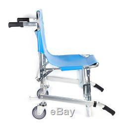 Medical Stair chair Stretcher Ambulance Wheel Chair Equipment Emergency BLUE