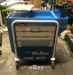 Metro Lifeline LEC 51 Emergency Crash Cart