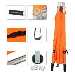 Multifunction Foldable Clinic Medical Bed Stretcher Rescue Emergency Orange PGS