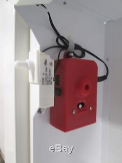 NEW IN BOX MODERN METAL PRODUCTS WALL MOUNTED EMERGENCY AED CABINET withALARM