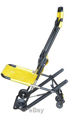 New Stair Stretcher Lightweight 1Person Operated Ambulance Emergency Wheelchair