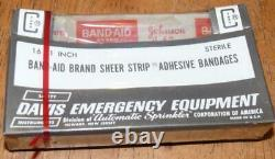 Nos Sealed Medic Davis Emergency Field Equipment #103v 16- 1 Band-aids-aid