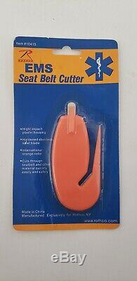 Rothco Seat Belt Cutter Public Safety First EMS/EMT Medical Emergency Equipment
