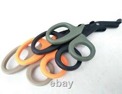 Scissors for Emergency Medical Treatments-Field Equip-Survival Rescue-paper cut