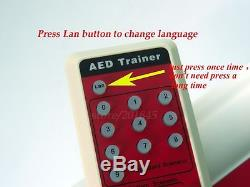 Simulation First Aid Training Emergency Rescue New AED Trainers in Greek