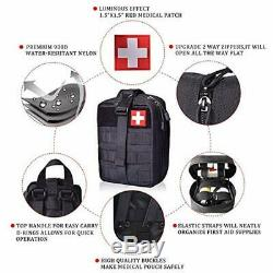 Tactical First Aid Pouch Medical Emergency Equipment Bag Military Medical Bag