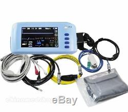 Touch Screen TFT LCD 5 Palm Digital Patient Monitor 6-Parameter for Emergency