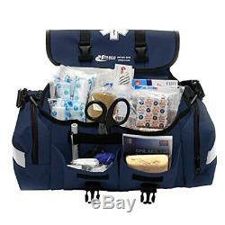 Trauma Bag First Aid Medical Emergency Supplies Kit Rescue Equipment Blue New US