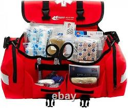 Trauma Bag First Aid Medical Emergency Supplies Kit Rescue Equipment EMT EMS New