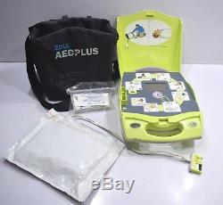 ZOLL AED Plus Medical Automated External Defibrillator emergency heart starter