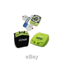 Zoll AED Plus with Graphic Cover Emergency Defibrillator 8000-004000-01