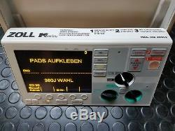 Zoll M Series Front Pannel Display unit like NEW medical emergency spare part